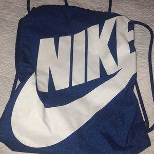 Nike draw string bag